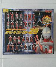 Ultraman HRF New Century Great Fighter 28 set Bandai tsuburaya Anime Manga