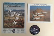 U.S. Air Force Thunderbirds 11x14 Print & 8.5 X 11 Print In Formation Lockheed