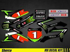 Kit Déco Moto / Mx Decal Kit Sherco 50 - Monster 2