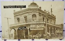 RPPC Headquarters Insurrectos Battle Juarez Sprinz Curio Co Mexican Revolution