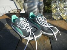 PUMA Mens GV Special Lace-Up Fashion Sneaker Gray with Teal Swoosh Mens size 10