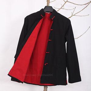 100%Cotton thick Kung Fu Tai chi Coat Wu shu Wingchun Shaolin Bruce Lee Jacket