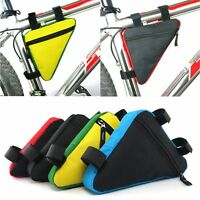 Accessories Mountain Bike Pouch Bicycle Front Tube Frame Bag Waterproof