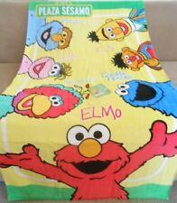 New Sesame Street Elmo Amigos Lola Bert Ernie Large Bath Beach Pool Gift Towel