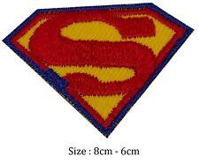 Superman Eisen Aufnäher Klassisches Logo Film #186