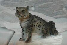 Snow leopard figurine statue collectables