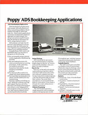 "ITHistory (1983) Datasheet: DURANGO ""Poppy ADS Bookkeeping Applications** MB+"