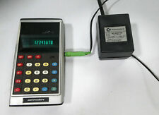 Commodore GL 997R Solid State Electronic Calculator Custom Green Line 1975
