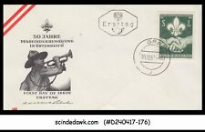 AUSTRIA - 1962 50yrs OF BOY SCOUTS IN AUSTRIA - FDC