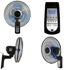 """Wall Mount 16"""" Oscillating Fan With Remote Control 3 Speed Home Greenhouse Fans"""