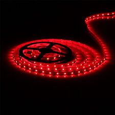 Red 5M 3528 SMD 300 LED Strip Light Flexible Waterproof For Car Motorcycle Decor
