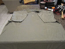 Ashworth Golf Polo Shirt - Olive Green - XL - Short Sleeve