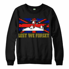 Lest We Forget Jumper, Army Flag Poppy Patch Marilyn Adult & Kids Jumper Top