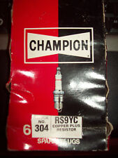 Champion Spark Plug RS9YC Stock number 304 Box of 6 Copper Plus Resistor