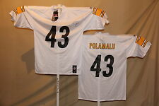 Troy Polamalu   PITTSBURGH STEELERS   Reebok JERSEY    XL    NwT   white