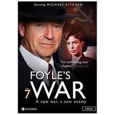 Foyles War: Set 7 (DVD, 2013, 3-Disc Set) NEW/SEALED w slipcover