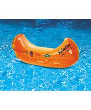 48 inch Kiddy Canoe FLOAT Kid Boat Ship Swimline Pool Party Lounge Toddler 9031