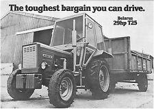 Brochure tracteur BELARUS T25