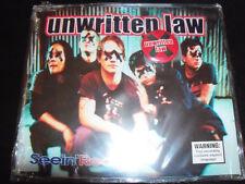 Unwritten Law Seein' Red Rare Australian 3 Track CD Single + Badge Set