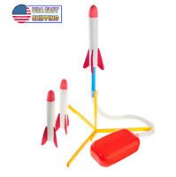 Launch Rocket Stomp Toy Foam Air Jump Rockets Perfect Toy Rocket Launcher 100ft