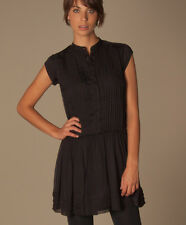 Nwt $200 Paul & Joe Sister Anthropologie black Estrella dress size 38 EU, M US