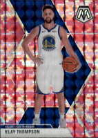 2019-20 Panini Mosaic Pink Camo #80 KLAY THOMPSON  Warriors