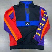 Nike Air Jordan Black Wings Windwear Packable Hood Jacket AV1834-011 Men's New