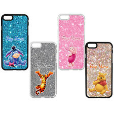 WINNIE THE POOH PERSONALISED Phone Case Cover for iPhone Samsung Any Name Disney
