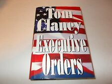 Executive Orders by Tom Clancy (1996, Hardcover) used