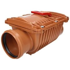 Capricorn Duoprotect Flood Protection System DN100 Backflow Flap Double Ø 110 MM