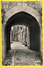 cpsm 06 - SAINT PAUL de VENCE en 1961 Rue CENTRALE Antiquités Simone GRAY