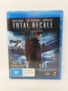 Total Recall - Colin Farrell - 2012 - Blu-ray - Brand New & Sealed