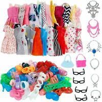 32pcs Doll Clothes Set Fashion Accessories for 11-12 Inch Girl Party Outfits