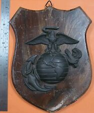 USMC Commanding Head Quarter Plaque in Vietnam war. 200x300mm Original badge