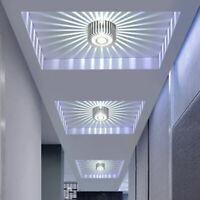 Sunflower LED 3W Wall Light Sconce Ceiling Down Spot Lighting Hall Lamp Fixture