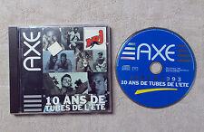 CD AUDIO / AXE 10 ANS DE TUBES DE L'ÉTÉ 1983 / 1993 CD COMPILATION PROMO 5606