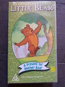 LITTLE BEAR A PRESENT FOR MOTHER BEAR VHS VIDEO PAL