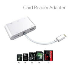 5in1 Lightning to SD CF TF XD M2Card Camera Reader Adapter for iPhone iPad iOS12