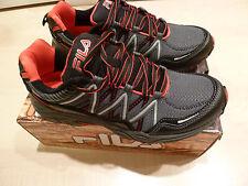 NEW $100 FILA Sz 13 Eur 47 Med Shoes Sheakers Gray Box