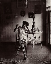 1912 New Orleans Female Prostitute By E.J. Bellocq Vintage Louisiana Photo Art