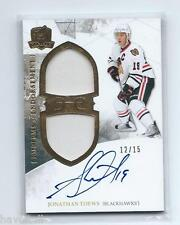2010/11 The Cup Hockey -Jonathon Toews - GU Memorbilia - Auto # 12/15