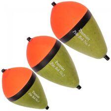 Premier Pike Bob. Pike Fishing Float Set (Set of 3. Sizes 1, 2 & 3)