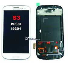 Samsung Galaxy S3 I9300 S3 NEO I9301 Ricambio Display Lcd + Touch + frame bianco