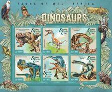 Sierra  Leone  2015 dinosaurs