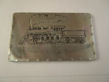 Wendell August Forge Empire State Express Train Aluminum Plate Plaque