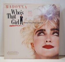 Madonna - Who's That Girl (1987) Vinyl LP • PROMO • soundtrack, Club Nouveau