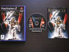 JEU Sony PLAYSTATION 2 PS2 : BIONICLE (Lego COMPLET envoi suivi)