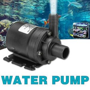 Fish Tank Water Pump Submersible Pond Aquarium Fountain Powerhead Air Pump 12V