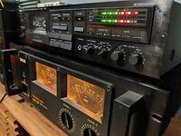 Yamaha KX-400U Stereo Cassette Tape Recorder Dolby B, C and HX Pro Deck Vintage