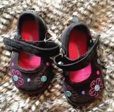 Children's Shoes Girls Dressy Mary Janes Garanimals Buckle Size 3 Toddler